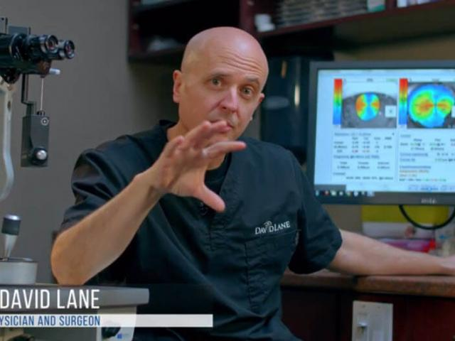 Dr. David Lane explains Toric Implants and Astigmatism